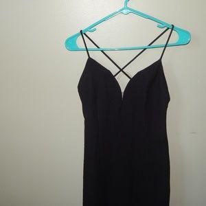 Nicole Miller Black Formal Dress Sz. 8 EUC